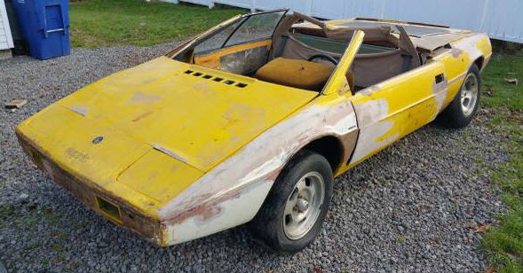 1977 Lotus Esprit S1 Parts Car for Sale in New Jersey