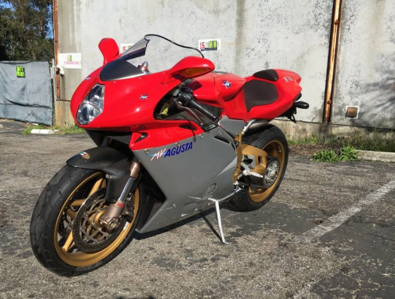 1999 MV Agusta F4 Serie Oro For Sale in Santa Cruz