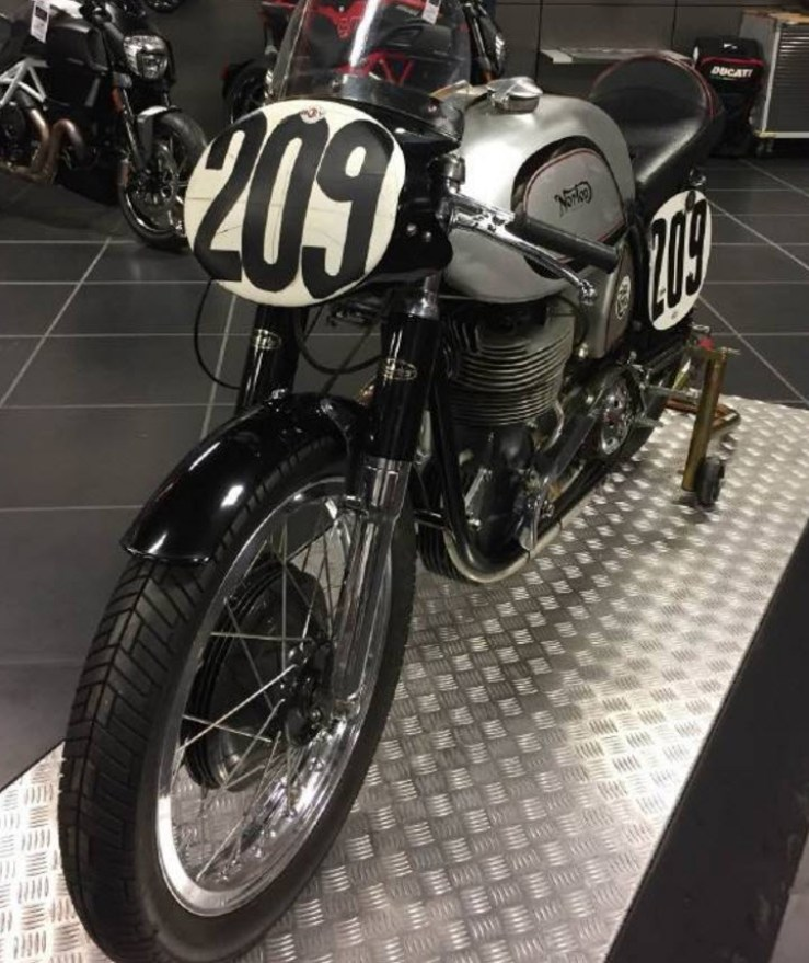 dirtyoldcars.com  1956 Norton Manx R11 For Sale in Texas