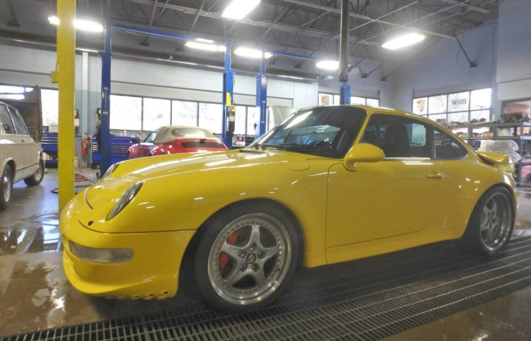 Fly Yellow Porsche 993 Turbos Found in Colorado ( Andial Upgrades)