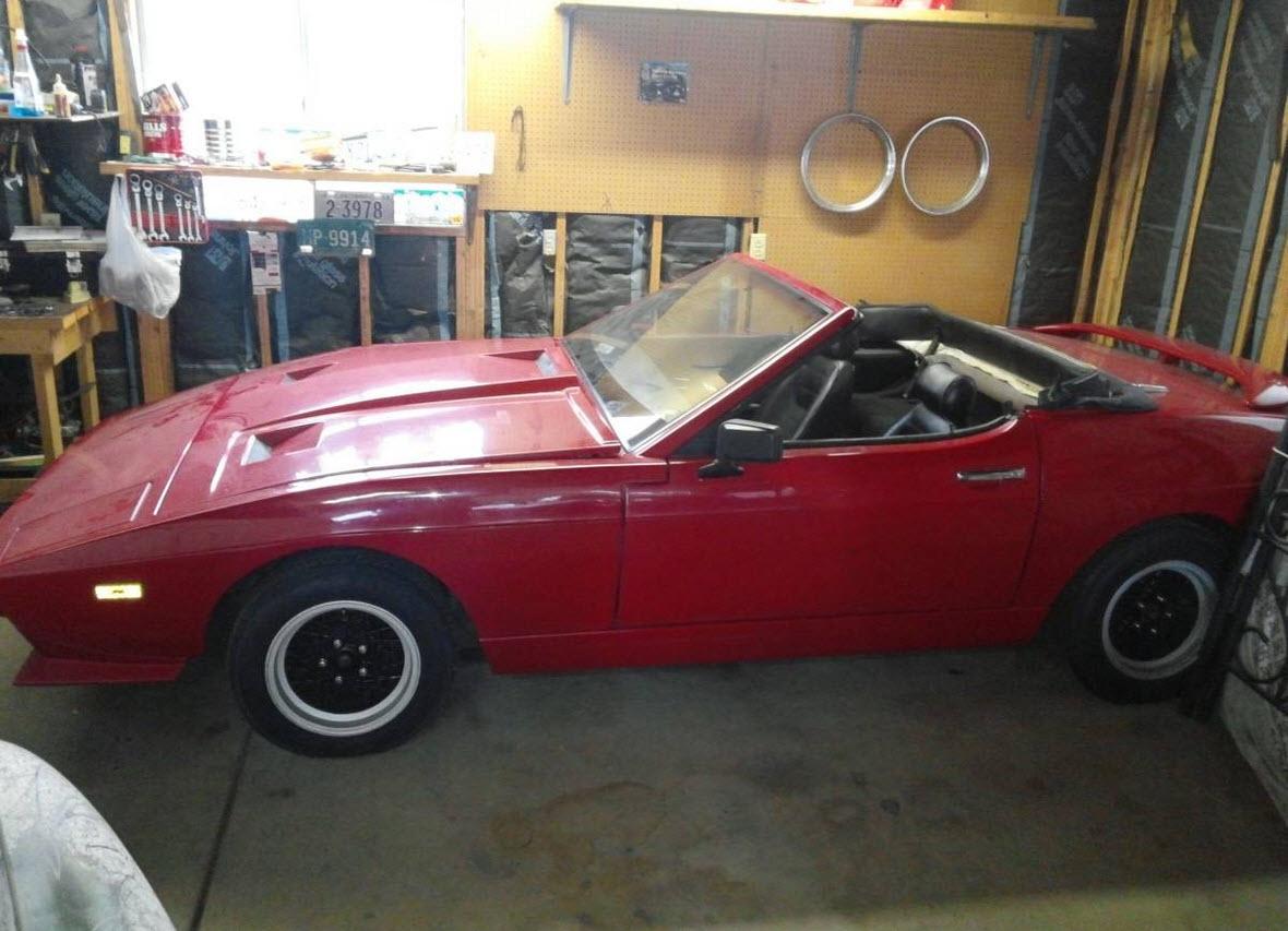 dirtyoldcars.com 1984 TVR Tasmim 280i Found in Denver Colorado 5