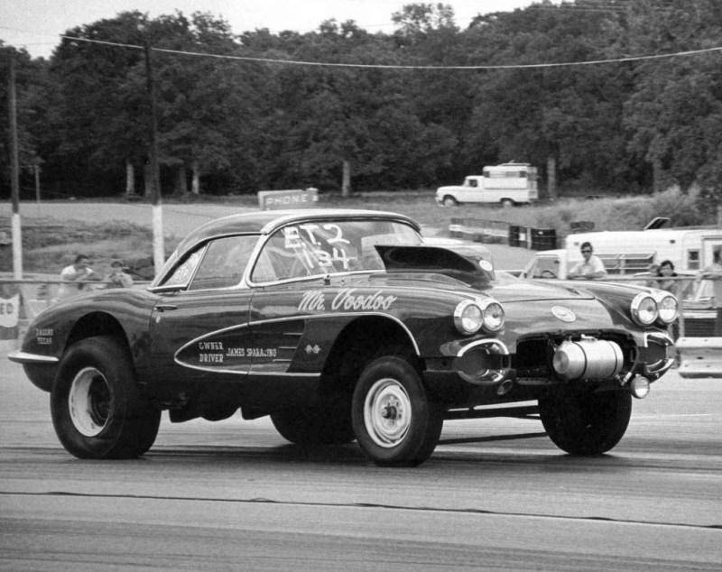 dirtyoldcars.com  1958 Corvette Gasser Mr VOO DOO Found in San Rafael  8