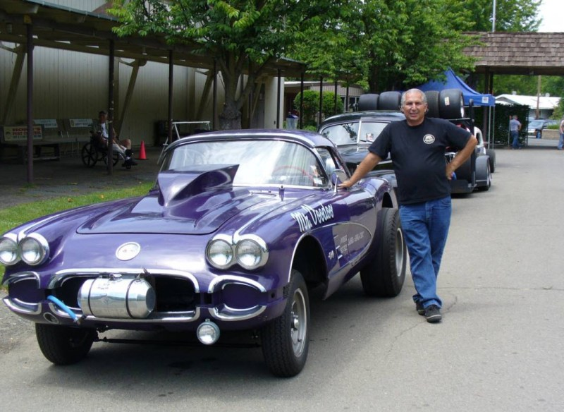 dirtyoldcars.com  1958 Corvette Gasser Mr VOO DOO Found in San Rafael  7