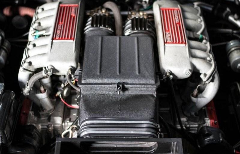 dirtyoldcars.com 1990 Ferrari Testarossa Found in Mesa Arizona 3