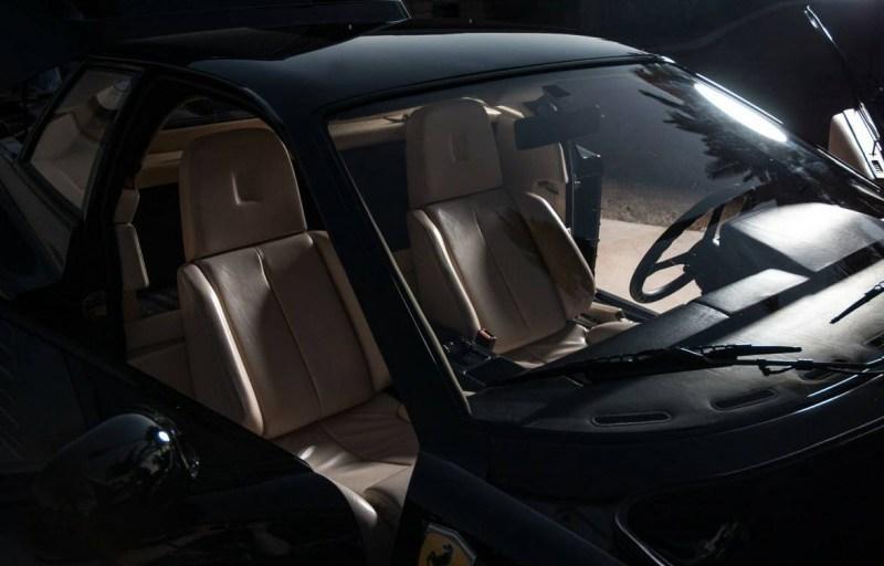 dirtyoldcars.com 1990 Ferrari Testarossa Found in Mesa Arizona 2