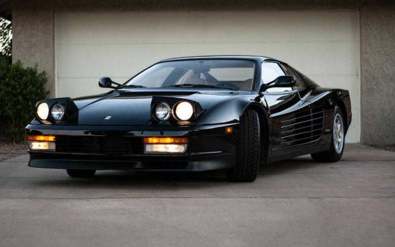 dirtyoldcars.com 1990 Ferrari Testarossa Found in Mesa Arizona 14