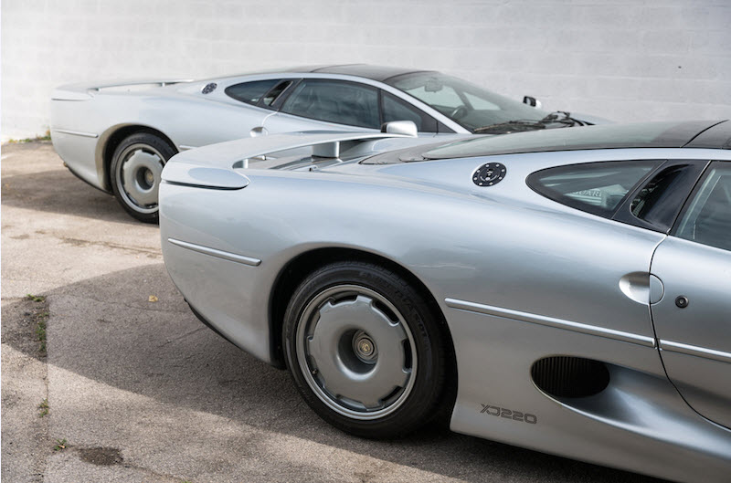 dirtyoldcars.com 1993 Jaguar XJ220 Found in Florida 3