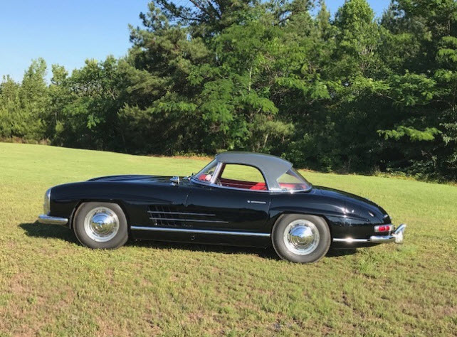 dirtyoldcars.com 1960 Mercedes 300SL Roadster Found in New York 8