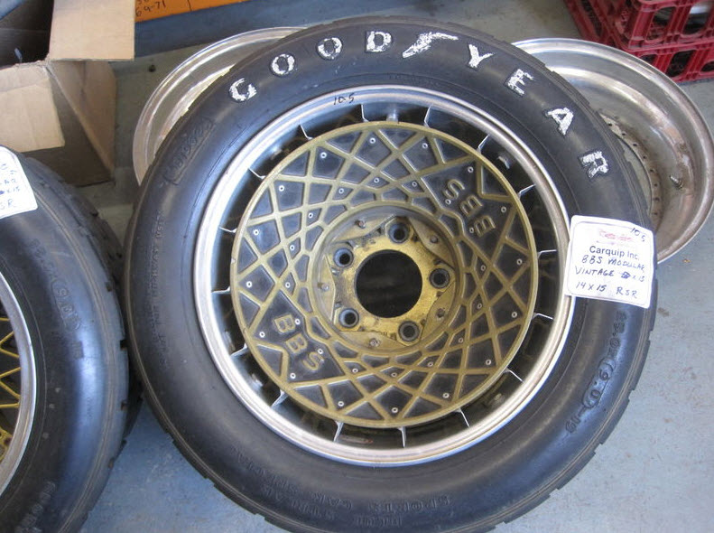 dirtyoldcars.com Porsche RSR 15 x 10.5 and 15 x 14 Wheels with BBS Turbo Fans Found in Boulder 4