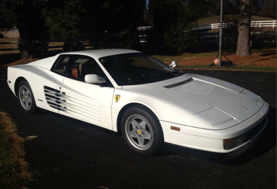 1989 ferrari testarossa found in scottsdale dirty old cars. Black Bedroom Furniture Sets. Home Design Ideas