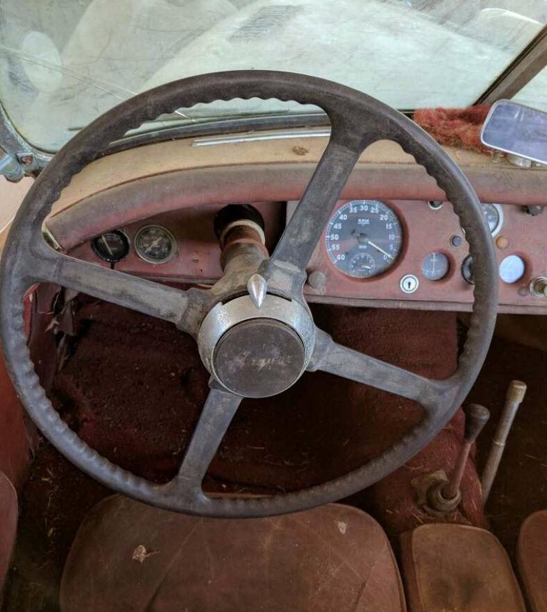dirtyoldcars.com   1953 Jaguar XK120 Roadster Found in New York   2