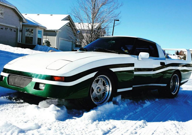 dirtyoldcars.com 1982 Mazda RX-7 Le Mans Found in Parker Colorado F40 Wheels 5