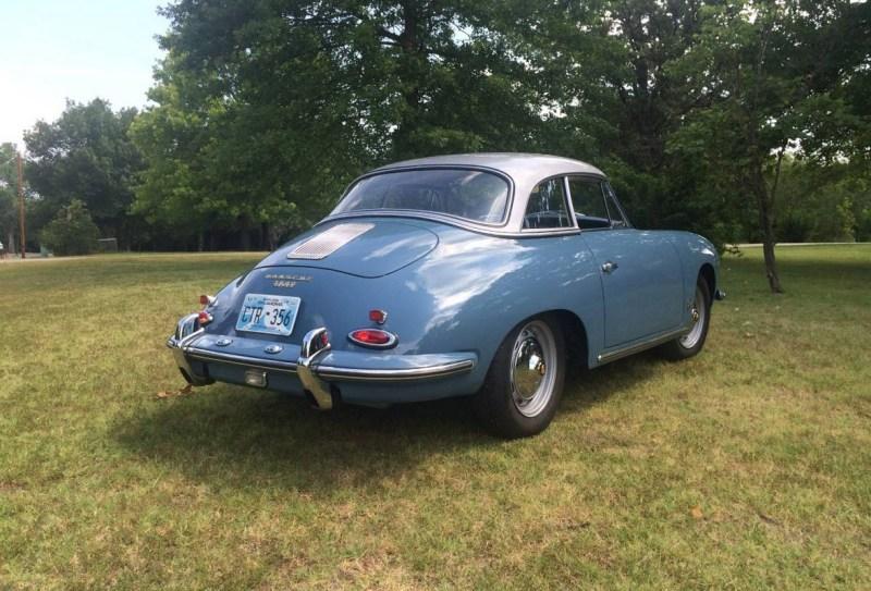 dirtyoldcars.com 1960 Porsche 356B 1600 S Reutter Cabriolet Found in Oklahoma 3