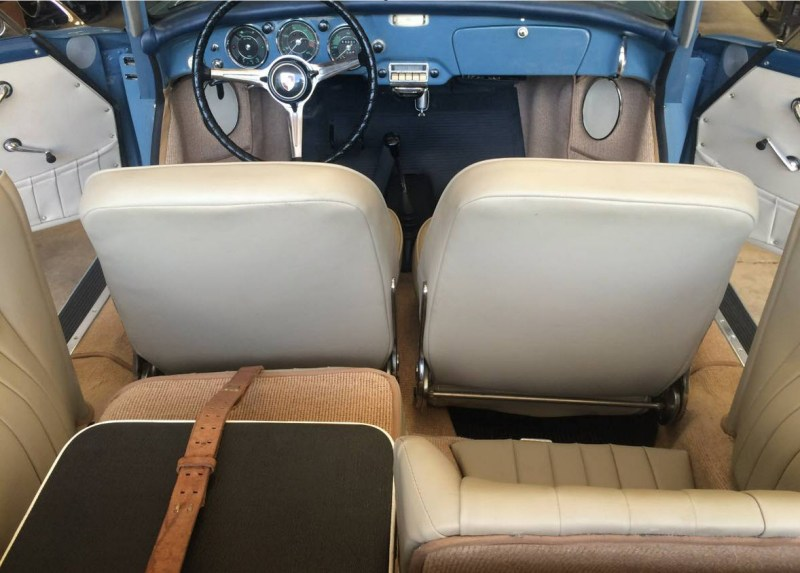 dirtyoldcars.com 1960 Porsche 356B 1600 S Reutter Cabriolet Found in Oklahoma 10