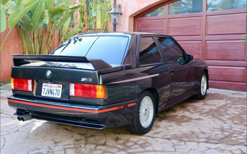 dirtyoldcars.com 1991 BMW M3 Found in Tarzana California 6