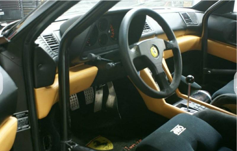 dirtyoldcars.com 1990 Ferrari 348 GTS Challenge Car Found in San Rafael California 1