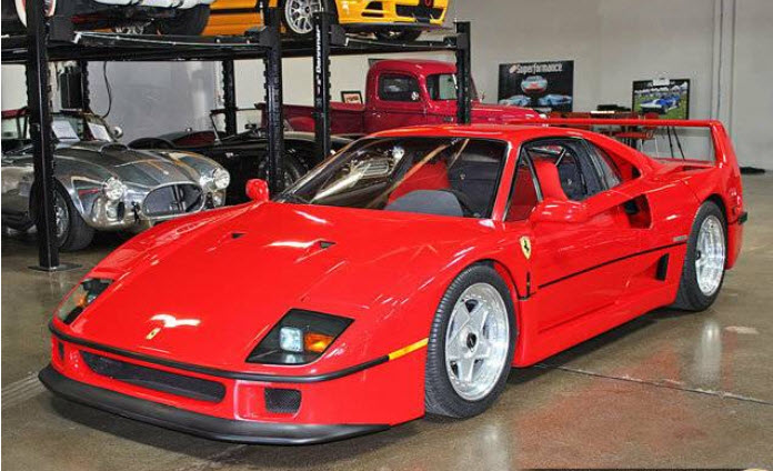 Dirtyoldcars.com 1990 Ferrari F40 US Spec Found in San Carlos California 2