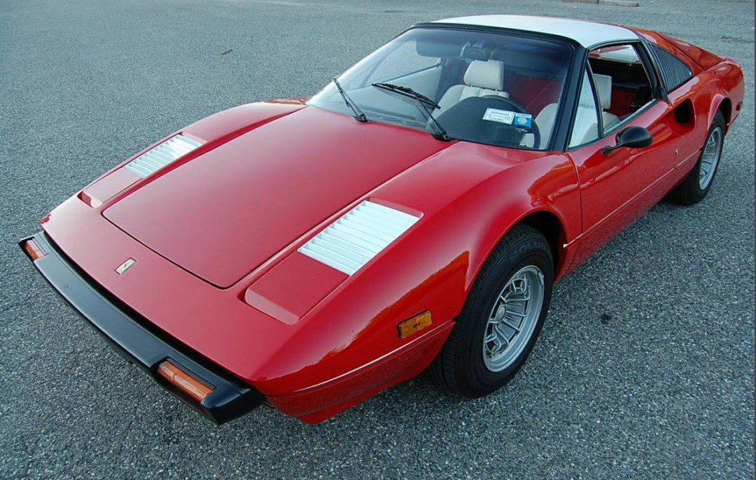 dirtyoldcars.com 1978 Ferrari 308 Factory Special Order Found in Connecticut 1