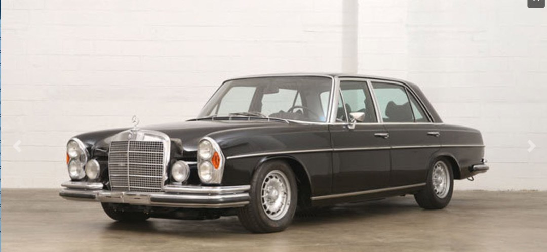 dirtyoldcars.com 1972 Mercedes 300SEL 6.3 Owned by Steve McQueen Found in San Francisco 7