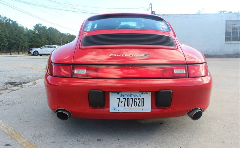 dirtyoldcars.com  1996 Porsche 993 C4S Found in Atlanta Georgia  3