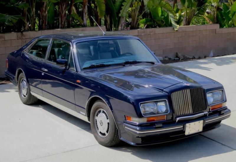 dirtyoldcars.com 1990 Bentley Hooper Empress II Found in San Diego California 6