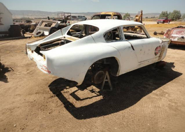 dirtyoldcars.com   1950s English Race Car Found in Antelope Valley    4