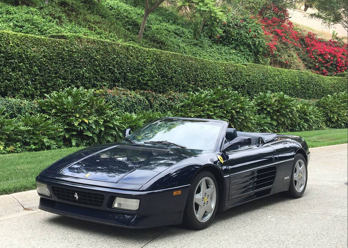 1994 Ferrari 348 Spider Found In San Diego