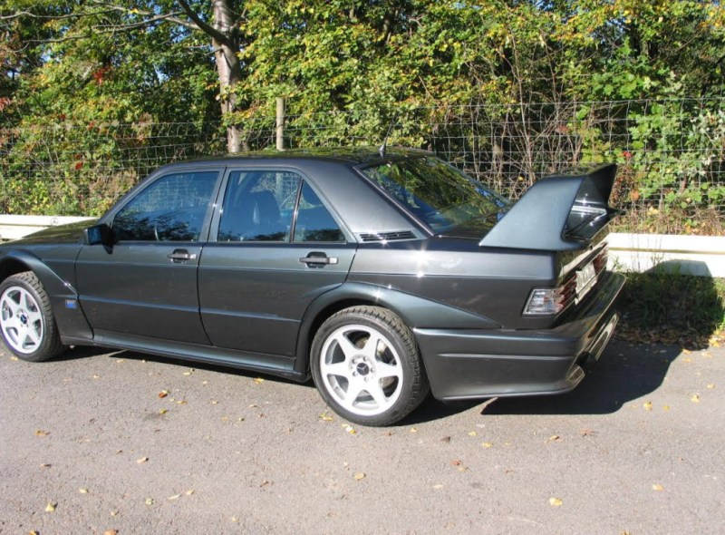 dirtyoldcars.com    1990 Mercedes 190E  2.5  EVO II Found in Germany     3