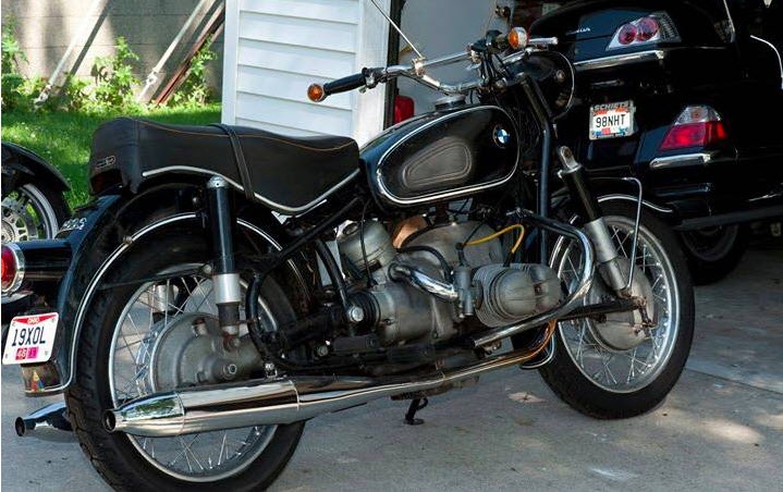 dirtyoldcars.com   1968 BMW 69S Motorcycle Found in Ohio   1