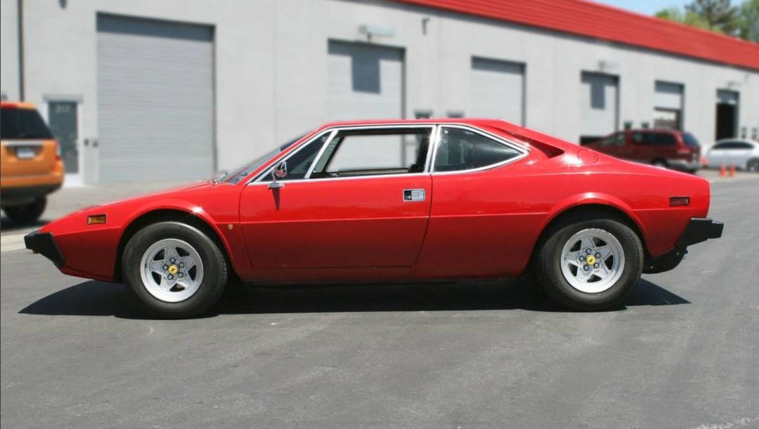 dirtyoldcars.com 1978 Ferrari 308 GT4 Dino 8