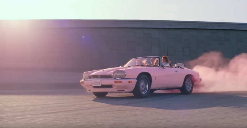 dirtyoldcars.com My Former Jaguar V12 Convertible spotted in a Dior Commercial with Natalie Portman 6