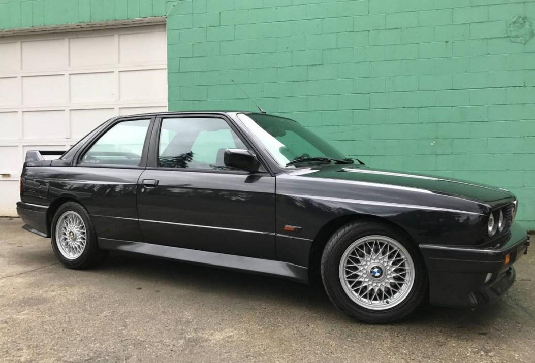 dirtyoldcars.com Collector Quality 1988 BMW E30 M3 Japan Euro Spec Diamond Schwartz Black 8