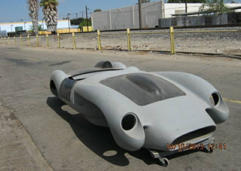 dirtyoldcars.com   Ferrari TR Fiberglass Body Found in Long Beach   5