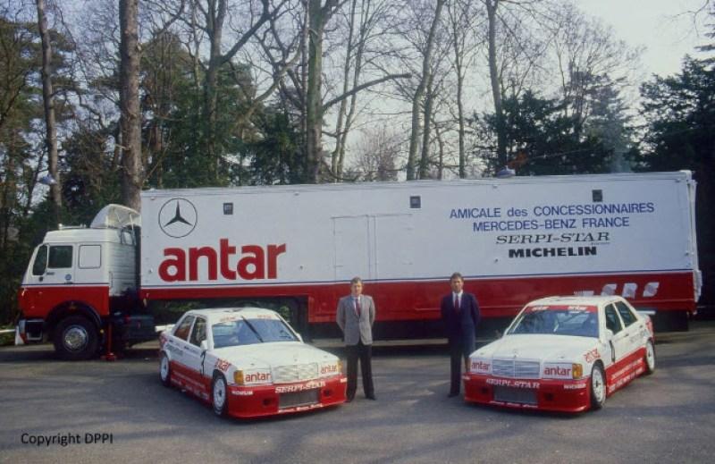 dirtyoldcars.com  1985 Mercedes 190E  Ex-Team Snobeck    8
