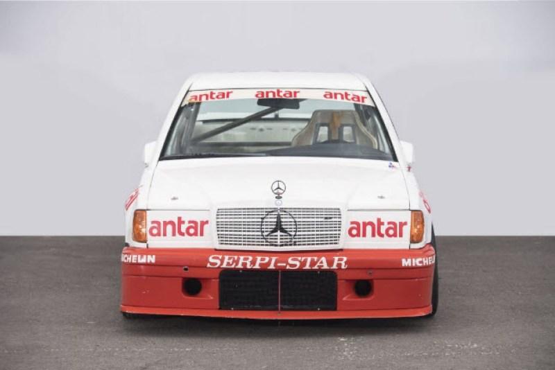 dirtyoldcars.com  1985 Mercedes 190E  Ex-Team Snobeck    6