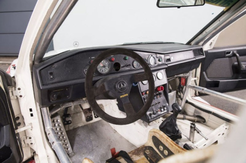 dirtyoldcars.com  1985 Mercedes 190E  Ex-Team Snobeck    4