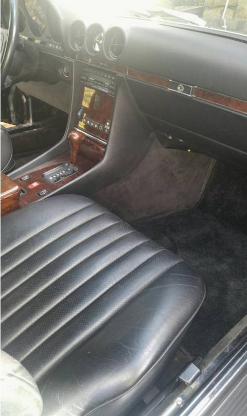 dirtyoldcars.com Low Mileage 1988 Mercedes 560SL Found in Maryland 2