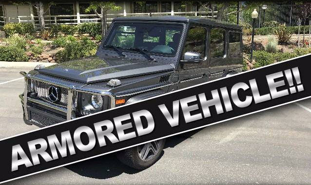 dirtyoldcars.com 2014 Mercedes Armored G63 Formerly Owned By Larry Ellison 2