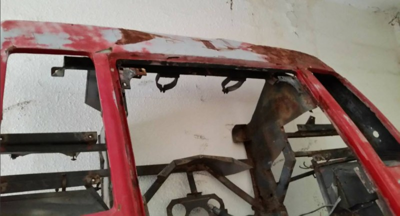 dirtyoldcars.com   1977 Ferrari 308 Body Shell Found in San Bernardino    2