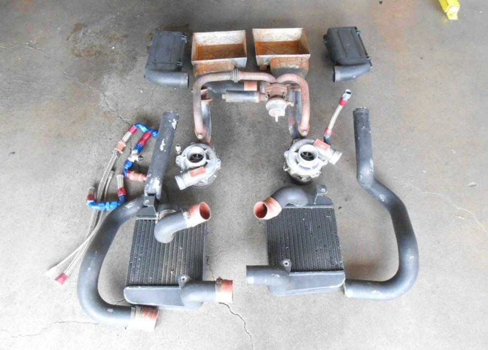 dirtyoldcars.com Ferrari 512BBi Boxer Twin Turbo Kit Found in Costa Mesa 7