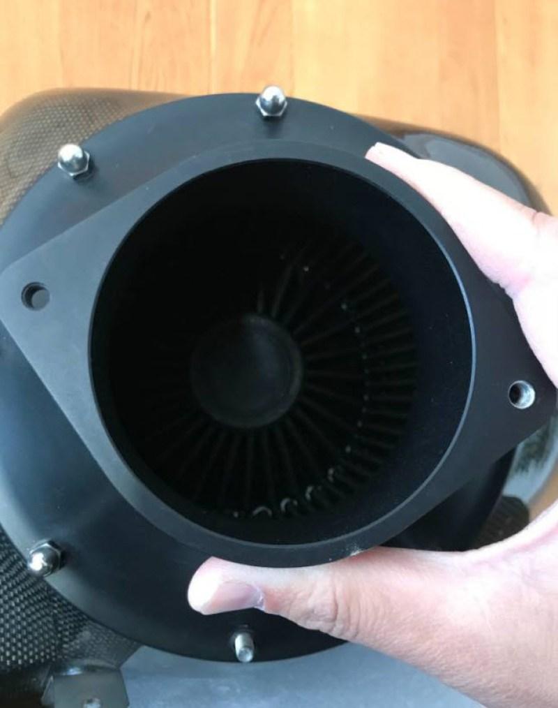 dirtyoldcars.com   Novitec Rosso Ferrari 430 Carbon Airbox Found in Encino   1