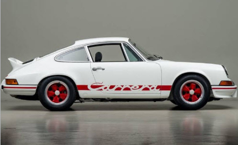 dirtyoldcars.com 1973 Porsche 911 RS 2.7 Found in New York 15