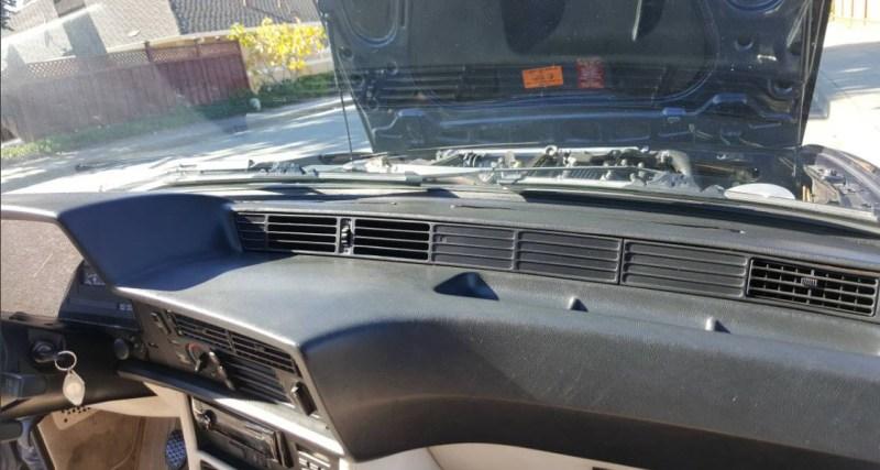 dirtyoldcars.com   1987 BMW M6 E24 Found in San Mateo  California   Blue   3