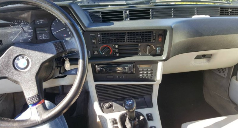 dirtyoldcars.com   1987 BMW M6 E24 Found in San Mateo  California   Blue   1