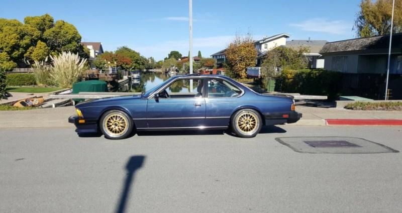 dirtyoldcars.com   1987 BMW M6 E24 Found in San Mateo  California   Blue   12