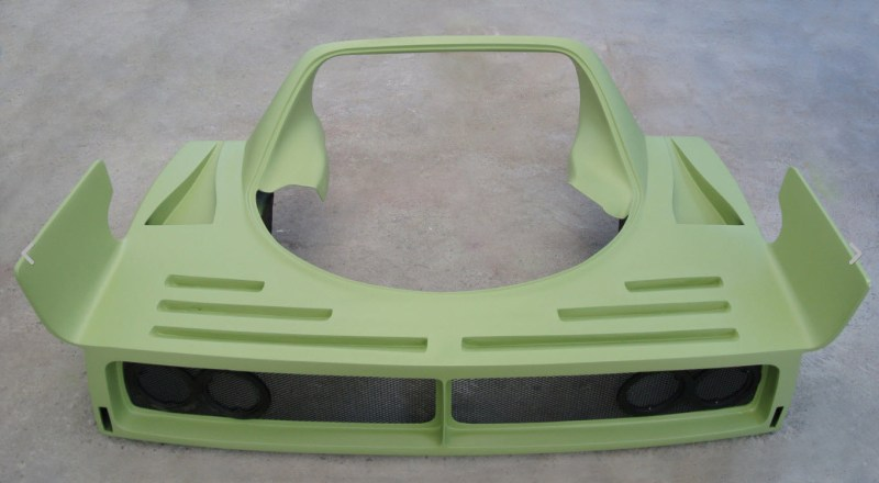 dirtyoldcars.com  aftermarket   Ferrari F40 LM Rear Bonnet Found in California   2