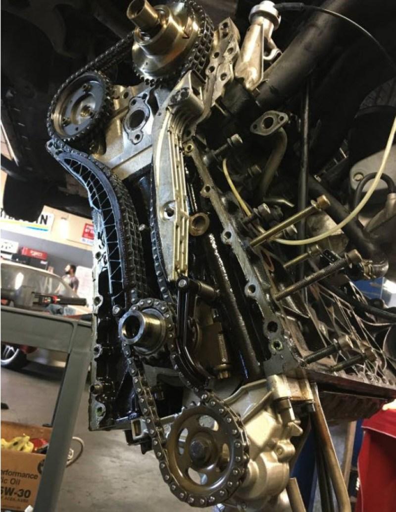 AMG Hammer Build Found in Hayward   Dirty Old Cars