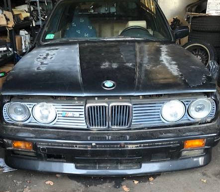 dirtyoldcars.com 1988 BMW M3 Project Found in Boston 5