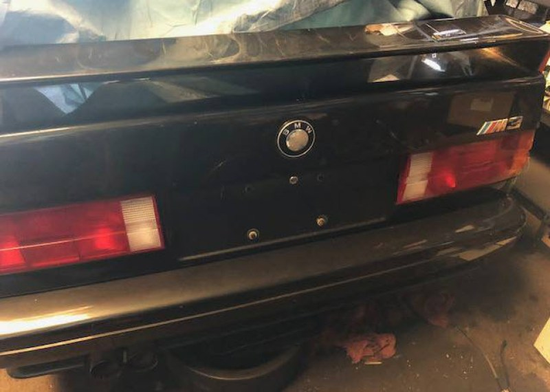dirtyoldcars.com   1988 BMW M3 Project Found in Boston    2