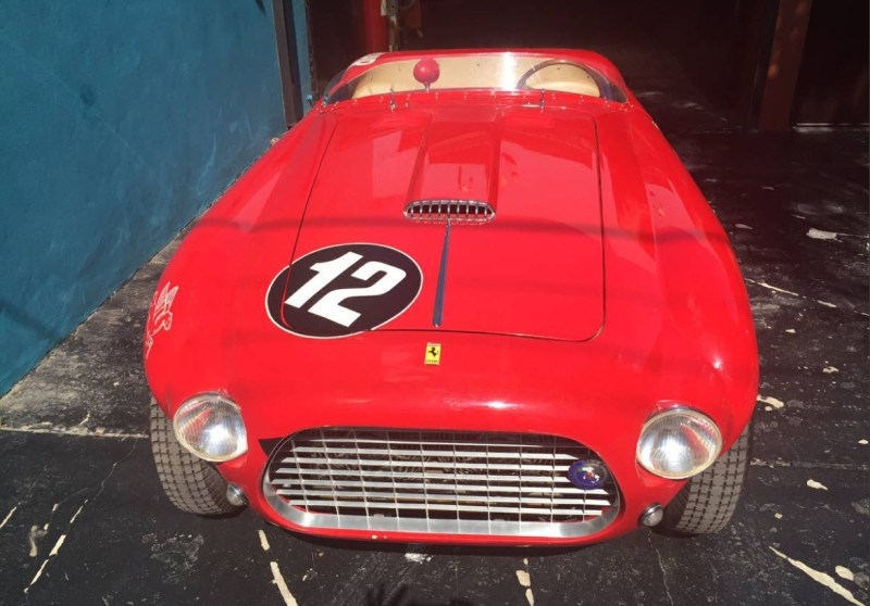 dirtyoldcars.com   1960 Ferrari 250MM Tribute Found in the UK   6